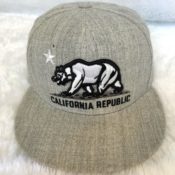Other - California Republic SnapBack Hat
